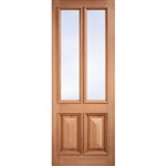 Islington Glazed Hardwood Door