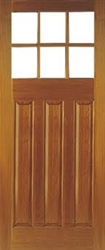 Pattern 664Hardwood Exterior Door