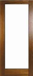 Pattern 10 Hardwood Exterior Door
