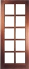 Pattern SC Hardwood Exterior Door