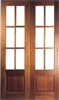 Hampstead Hardwood Interior French Doors