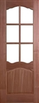Riviera 6L Hardwood Interior Door