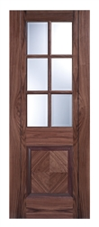 Barcelona Walnut Interior Door
