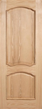 Louis RM2S Oak Fire Door