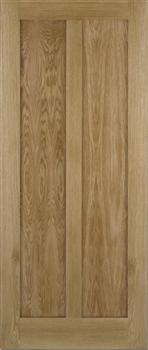 Maine Oak Fire Door