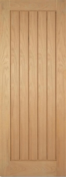 Mexicano Oak Fire Door
