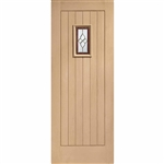 Cottage Oak Exterior Door