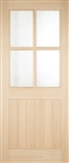 Cottage Stable 4L Oak Exterior Door