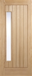 Newbury 1L Oak Exterior Door