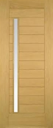 Oslo Oak Exterior Door