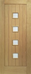 Siena Oak Exterior Door