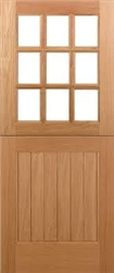 Stable Oak Exterior Door