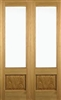 Chiswick Oak Interior French Doors
