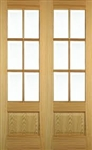Hampstead Oak Interior French Doors