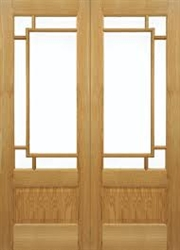 Orient Oak Interior French Doors