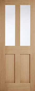 London Glazed Oak Interior Door