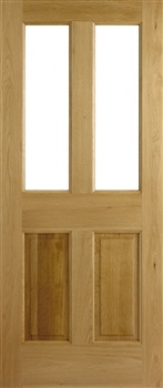 Malton Unglazed Oak Interior Door