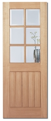 Mexicano 6L Oak Interior Door