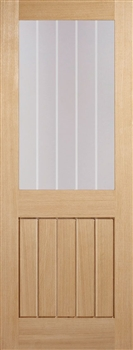 Mexicano Half Light Oak Interior Door