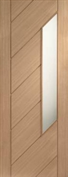 Monza Glazed Oak Interior Door
