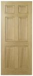 Regency 6P Oak Interior Door