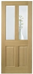 Richmond Glazed Oak Interior Door