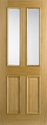 Richmond RM Glazed Oak Interior Door
