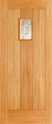 Suffolk Oak Exterior Door
