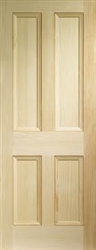 Edwardian 4P Pine Interior Door