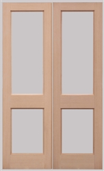 2xGG Softwood Exterior French Doors