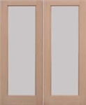 Pattern 20 Softwood Exterior French Doors