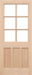 KXT Softwood Exterior Door