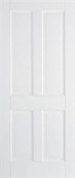 Canterbury 4P  Solid White Interior Door