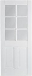Canterbury 6L Solid White Interior Door