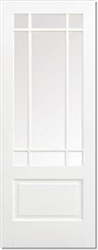Downham Solid White Interior Door