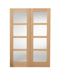 SHAKER DOOR PAIR OAK