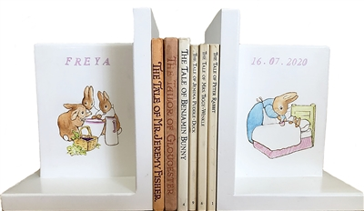 Beatrix Potter Bookends