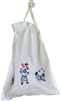 Hand Embroidered Clown Laundry Bag