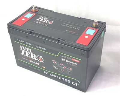 FuelZero 12v 100AH Deep Cycle LIFEPO4 Battery