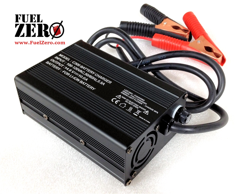 FuelZero 12v 10Amp LIFEPO4 Battery Charger