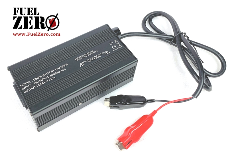 FuelZero 48v 10Amp LIFEPO4 Battery Charger