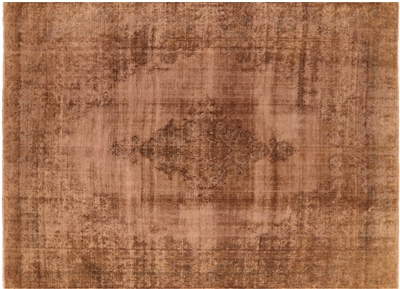 Persian Overdyed Kerman Hand Knotted Rug