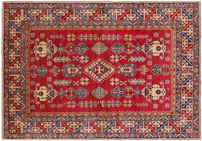 Majestic Tapestry Oriental Hand Knotted Kazak Rug