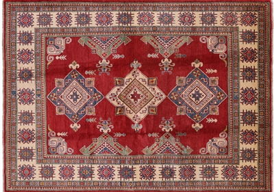 Persian Kazak Hand Knotted Wool Rug