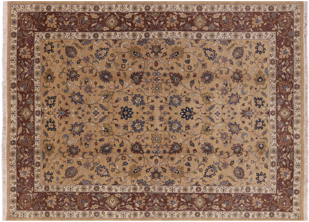 8 X 11 Persian Hand Knotted Wool Oriental Area Rug H416