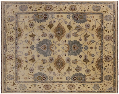 Oushak Hand Knotted Area Rug