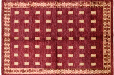 Hand Knotted Wool Gabbeh Rug
