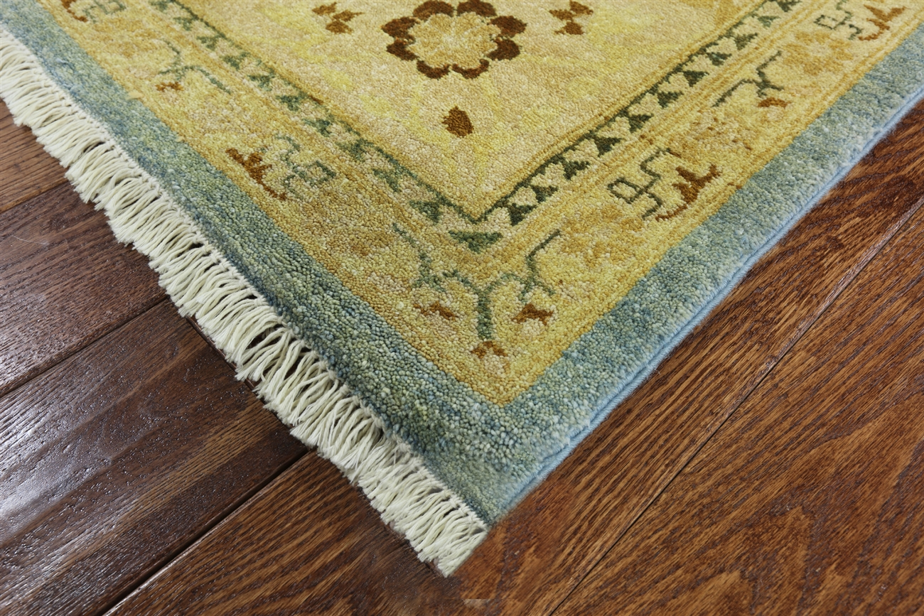 10 x 15 hand knotted blue persian wool area rug h6251. Black Bedroom Furniture Sets. Home Design Ideas