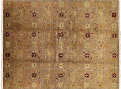 Persian Ziegler Mahal Area Rug Hand Knotted