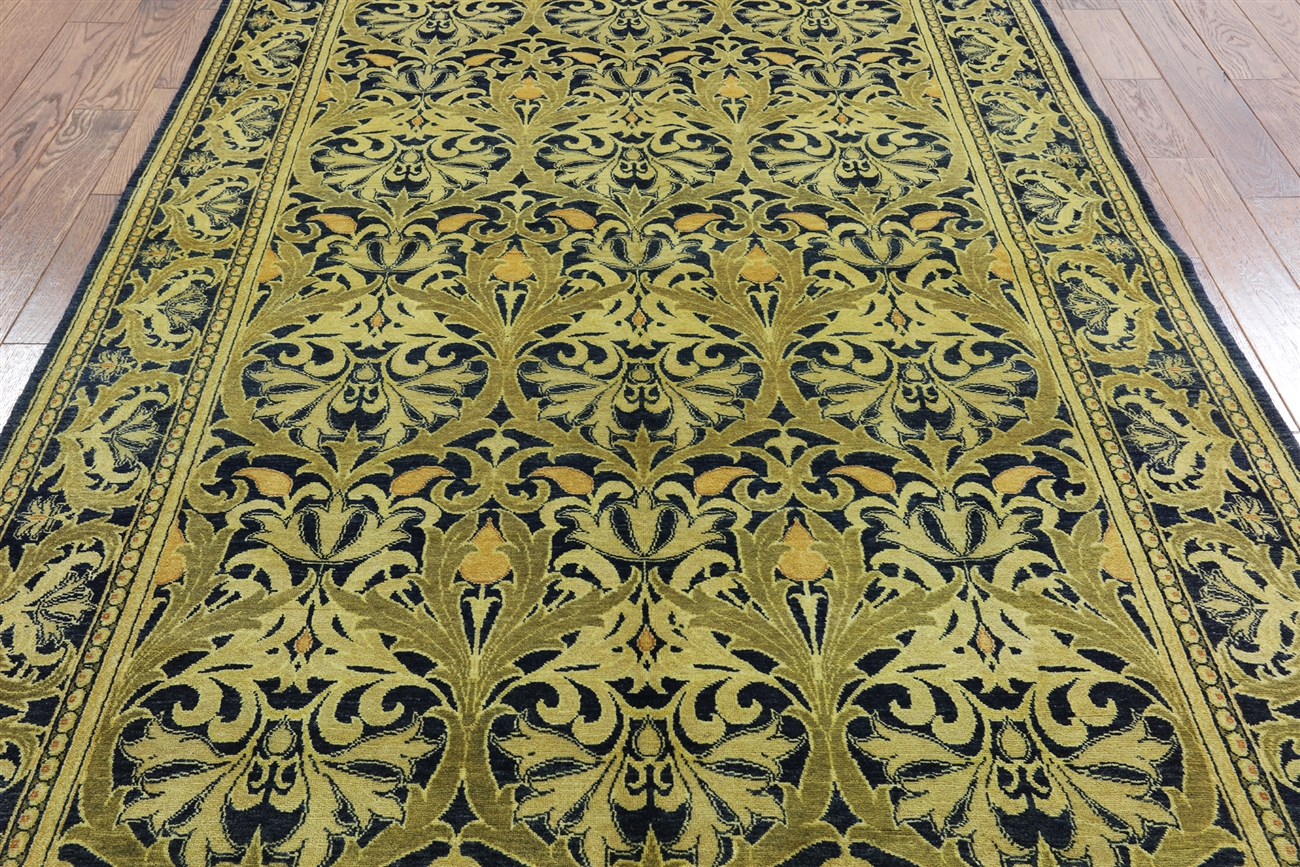 6 x 9 william morris handmade wool rug h6371 for Best selling rugs
